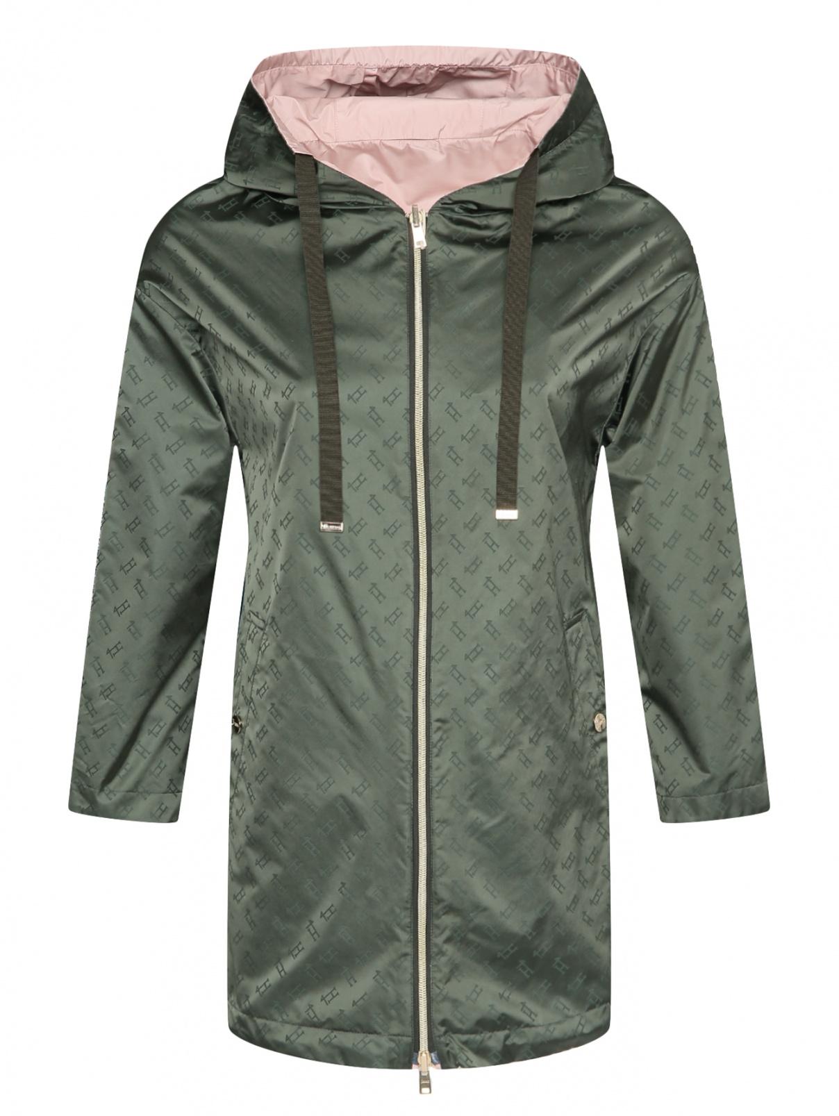 Куртка на молнии с капюшоном Herno  –  Общий вид