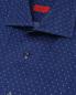 Рубашка из льна с принтом Isaia  –  Деталь