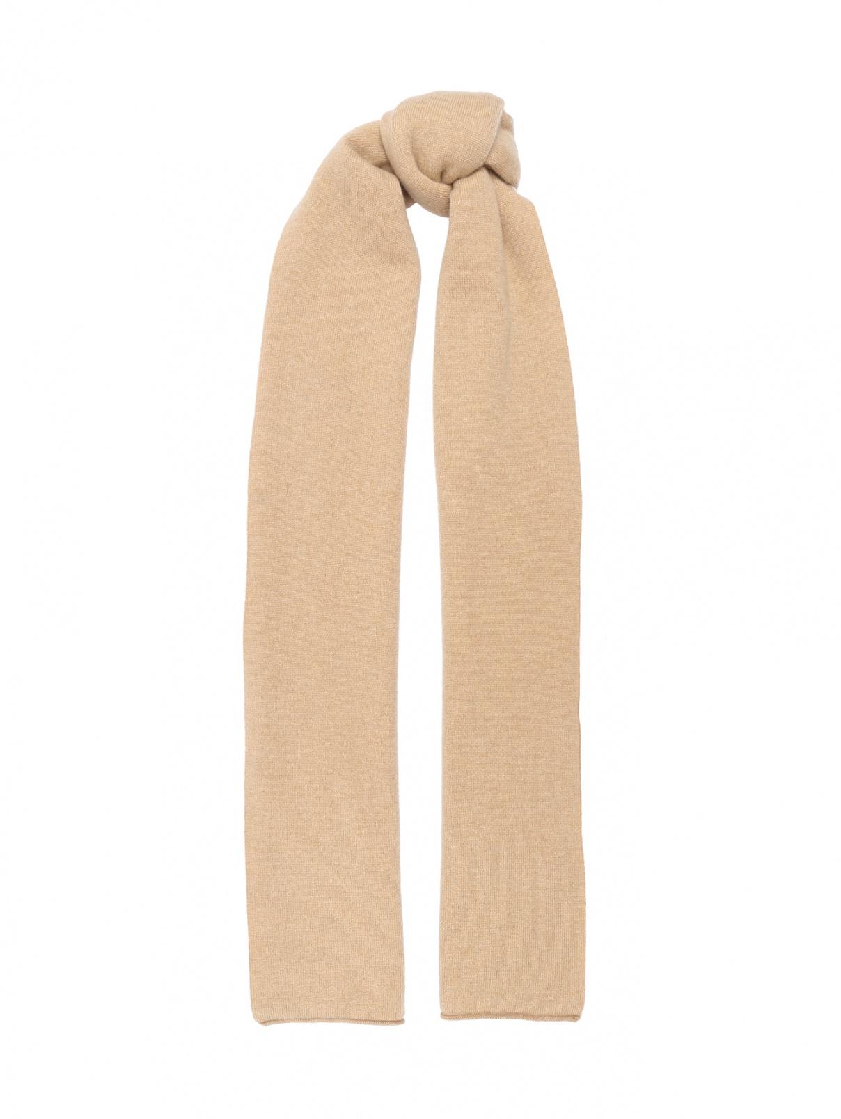 Трикотажный шарф из кашемира Kangra Cashmere  –  Общий вид