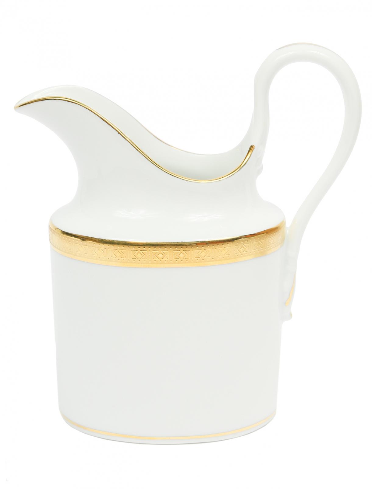 Молочник из фарфора с золотой окантовкой Richard Ginori 1735  –  Общий вид
