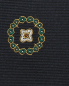 Галстук из шелка с узором LARDINI  –  Деталь