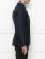 Пиджак из шерсти и льна Pal Zileri  –  МодельВерхНиз2