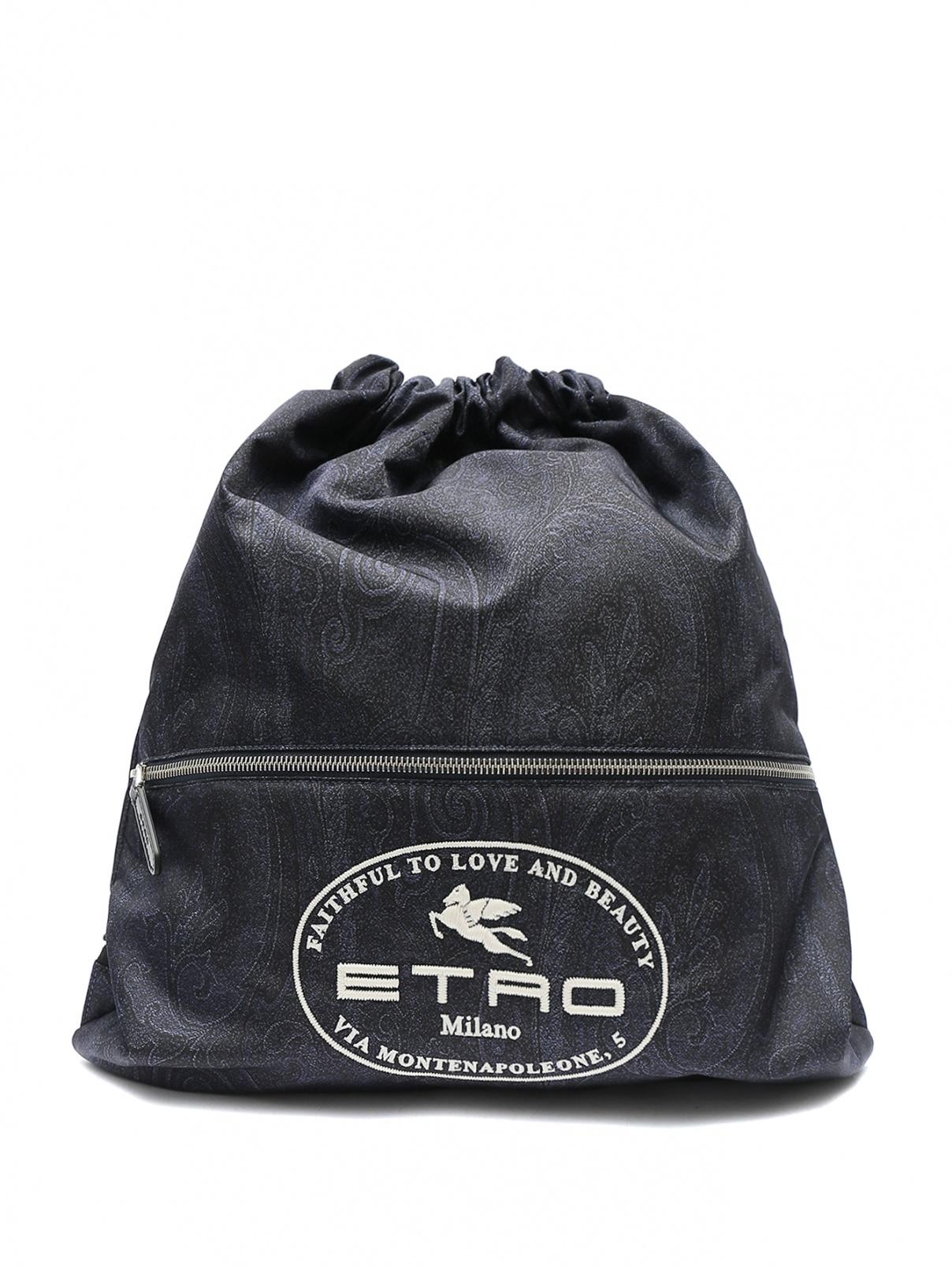 Рюкзак из текстиля с принтом Etro  –  Общий вид