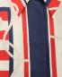 Рубашка прямого кроя, из шелка с узором Alberta Ferretti  –  Деталь