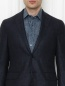 Пиджак из шерсти и льна Pal Zileri  –  МодельОбщийВид1
