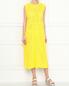 Платье из хлопка свободного кроя без рукавов Jil Sander  –  МодельОбщийВид