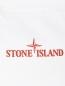 Футболка из хлопка с принтом Stone Island  –  Деталь1