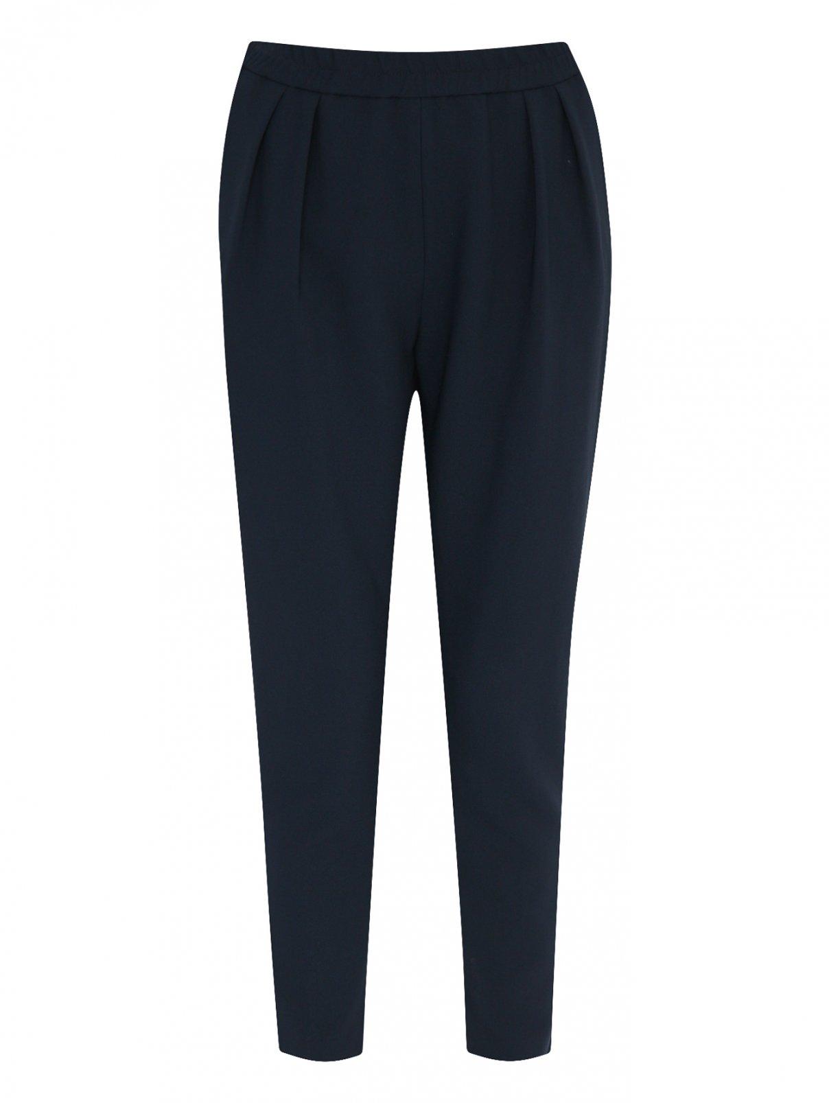 Укороченные брюки на резинке Maison Kitsune  –  Общий вид