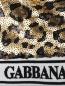 Бомбер расшитый пайетками Dolce & Gabbana  –  Деталь