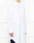 Удлиненная рубашка из хлопка свободного кроя Maison Martin Margiela  –  МодельВерхНиз