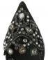 Туфли с открытой пяткой на каблуке-рюмочке с декором René Caovilla  –  Обтравка3