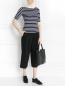 Укороченные брюки из шерсти Michael Kors  –  Модель Общий вид