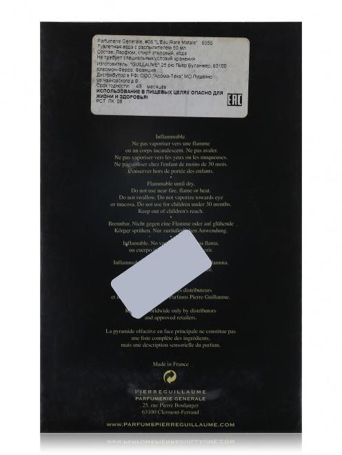 Туалетная вода - L`Eau Rare Matale Generale Parfumerie, 50ml Generale Parfumerie - Обтравка2