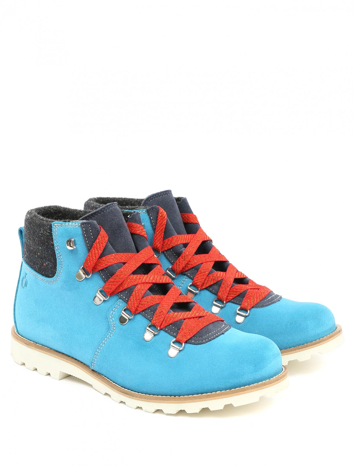 Ботинки из замши на контрастной подошве Bosco Fresh  –  Общий вид
