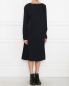 Платье свободного кроя из вискозы и купро Maison Martin Margiela  –  МодельВерхНиз