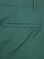 Укороченные брюки из шерсти Paul Smith  –  Деталь