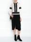 Джемпер из шерсти с контрастной отделкой Alberta Ferretti  –  Модель Общий вид