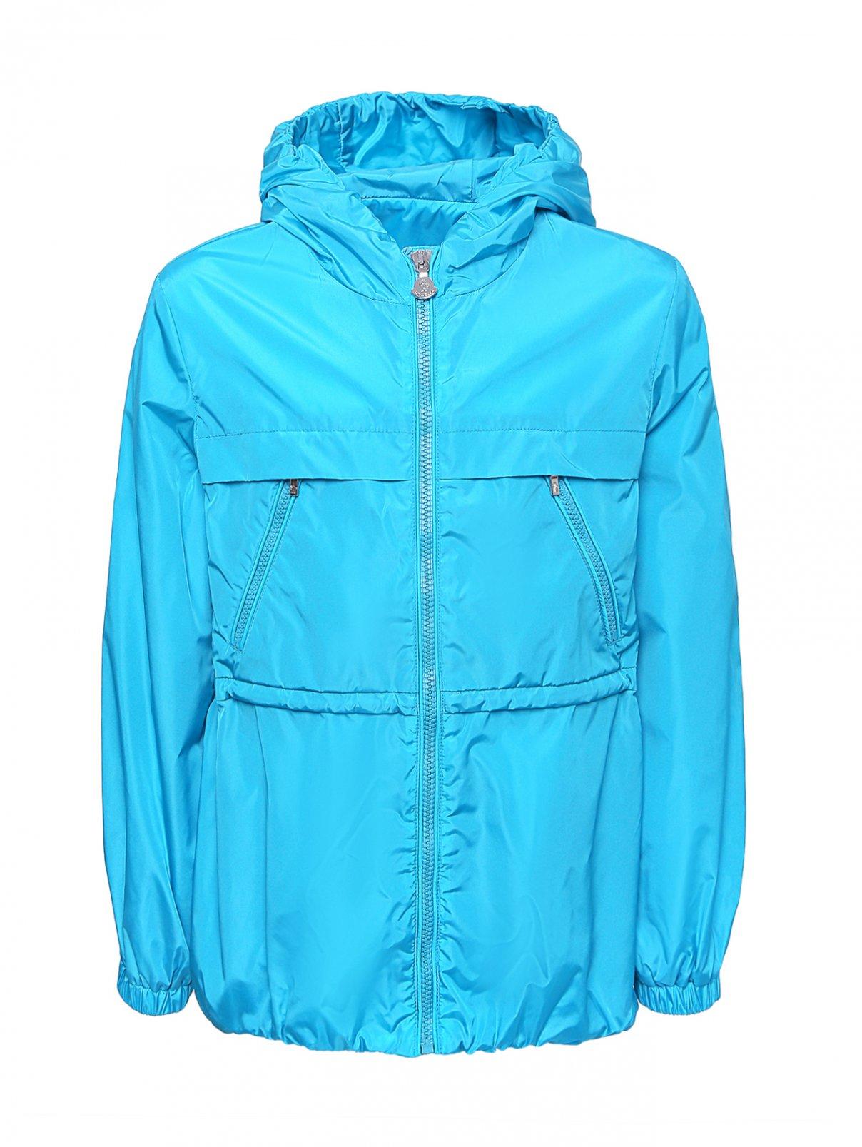 Куртка ветрозащитная с капюшоном Moncler  –  Общий вид
