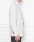 Пиджак из льна и хлопка Pal Zileri  –  МодельВерхНиз2