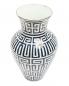 Фарфоровая ваза с узором 8 x 30 Ginori 1735  –  Обтравка2