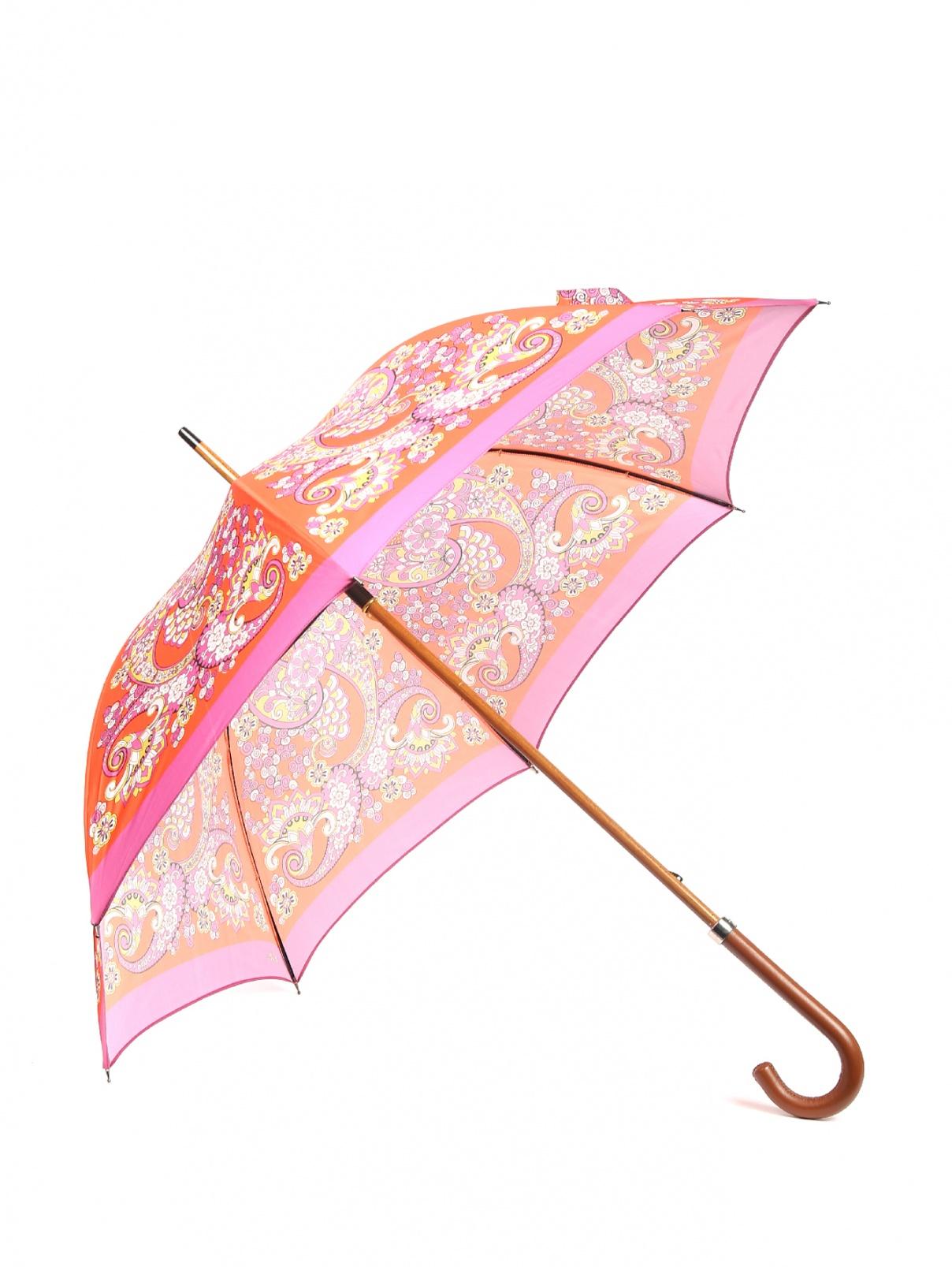 Зонт-трость с цветочным узором Etro  –  Общий вид