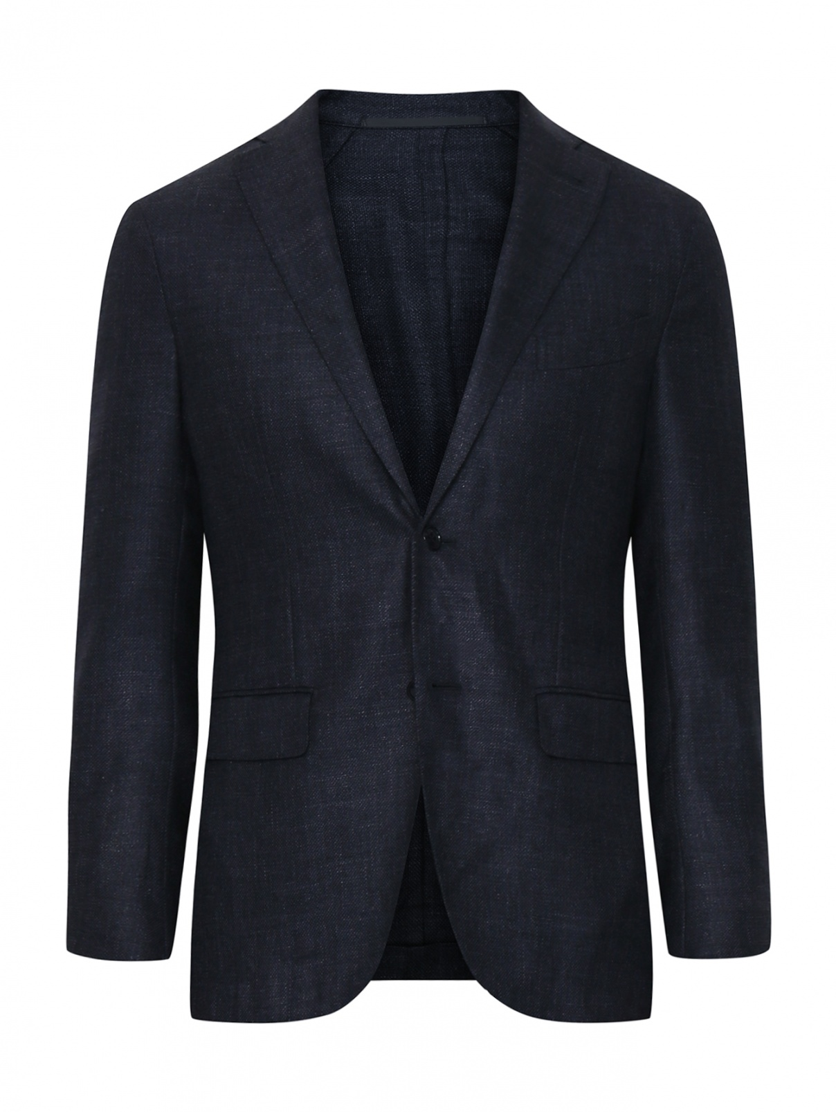 Пиджак из шерсти и льна Pal Zileri  –  Общий вид