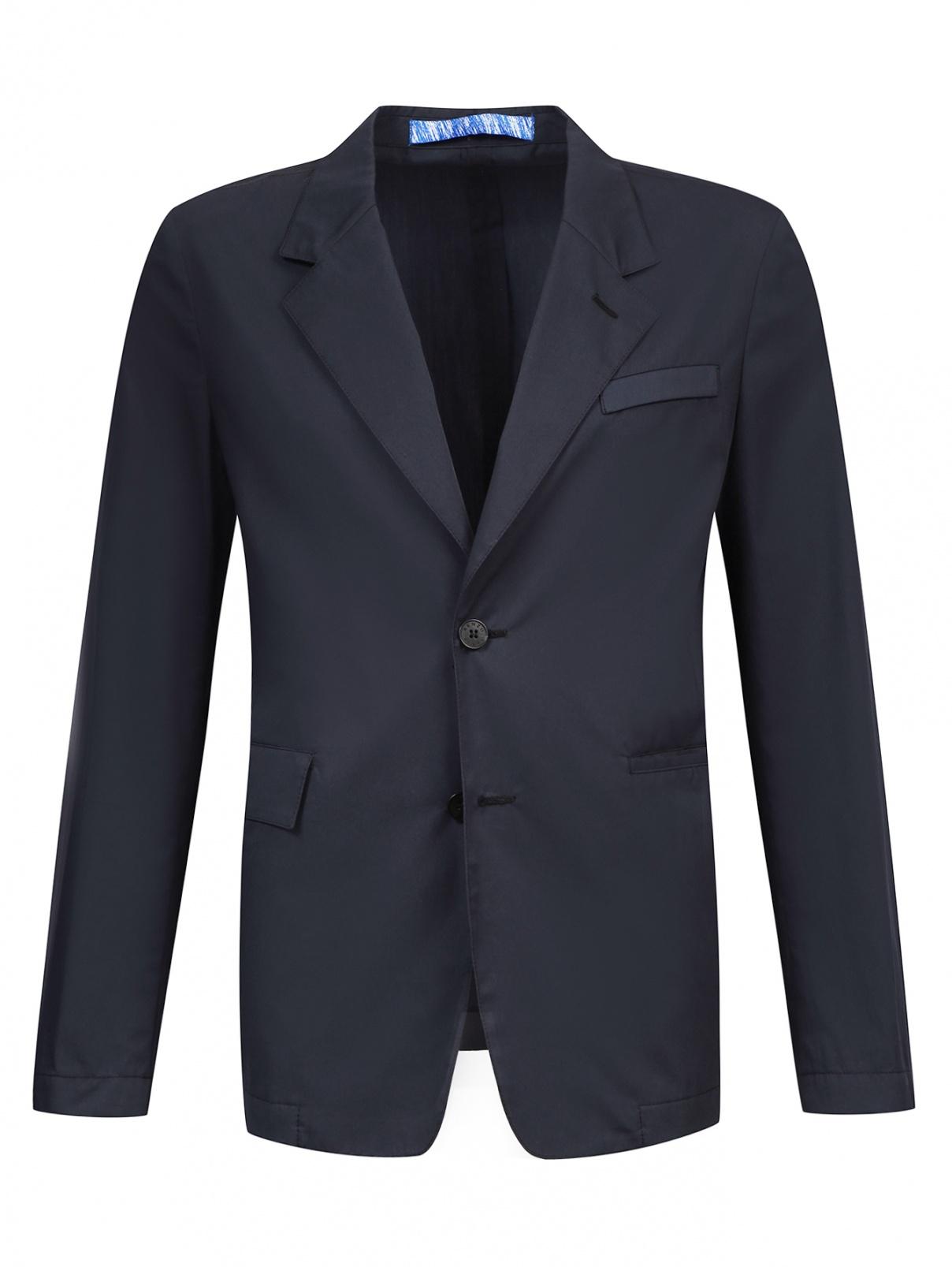 Легкий однобортный пиджак из хлопка Kenzo  –  Общий вид
