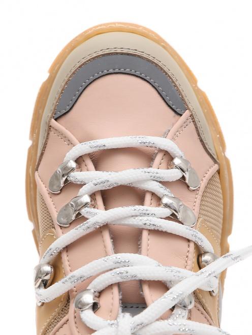 Кроссовки с цветными вставками Gallucci - Обтравка3