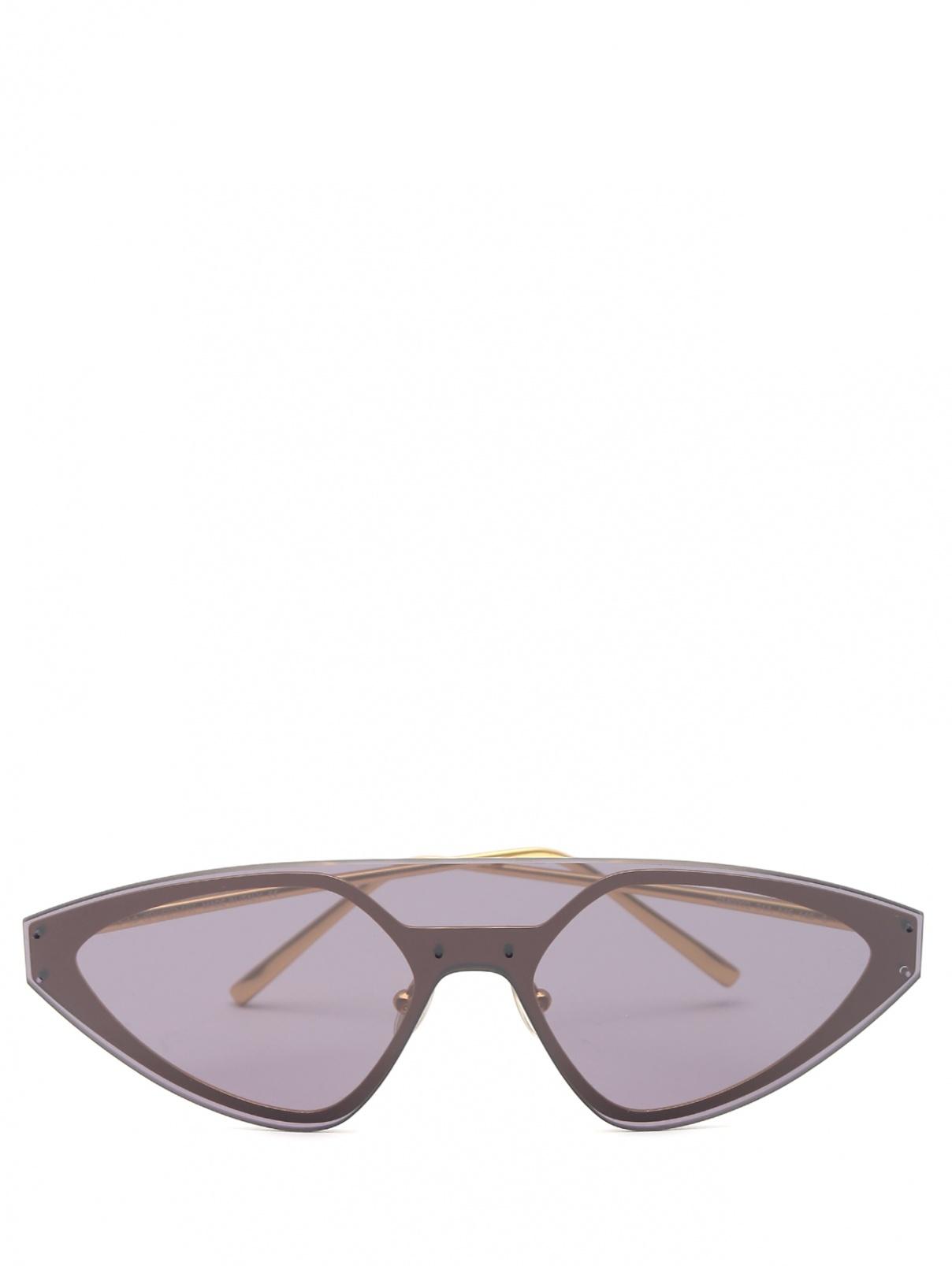 Солнцезащитные очки из пластика и металла Max Mara  –  Общий вид