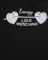Хлопковые спортивные брюки с кружевными аппликациями Love Moschino  –  Деталь
