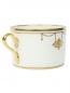 Чашка чайная с узором птицы Richard Ginori 1735  –  Обтравка1