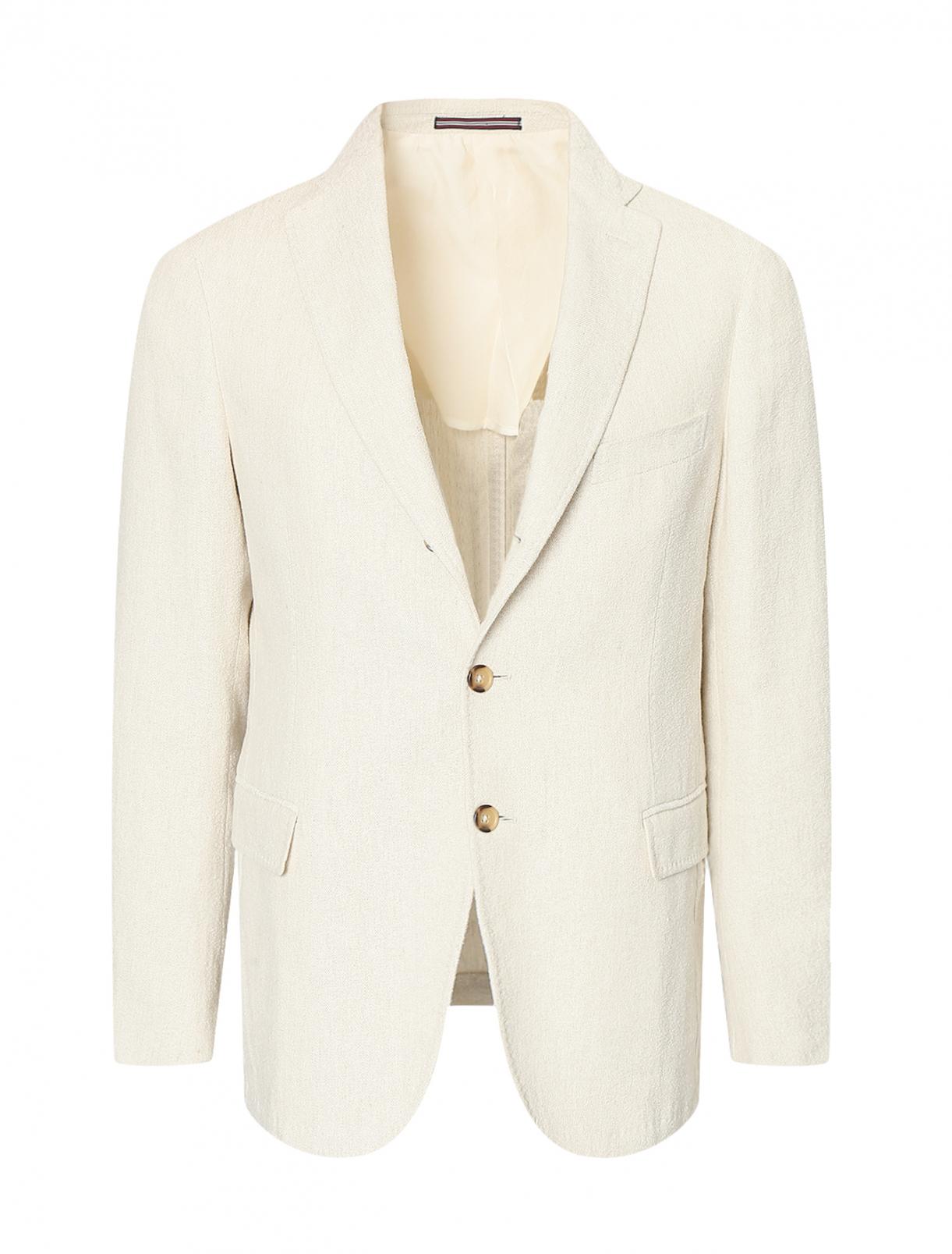 Пиджак из льна и хлопка Pal Zileri  –  Общий вид