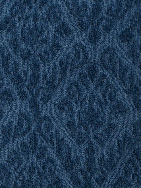 Носки из хлопка с узором  - Деталь
