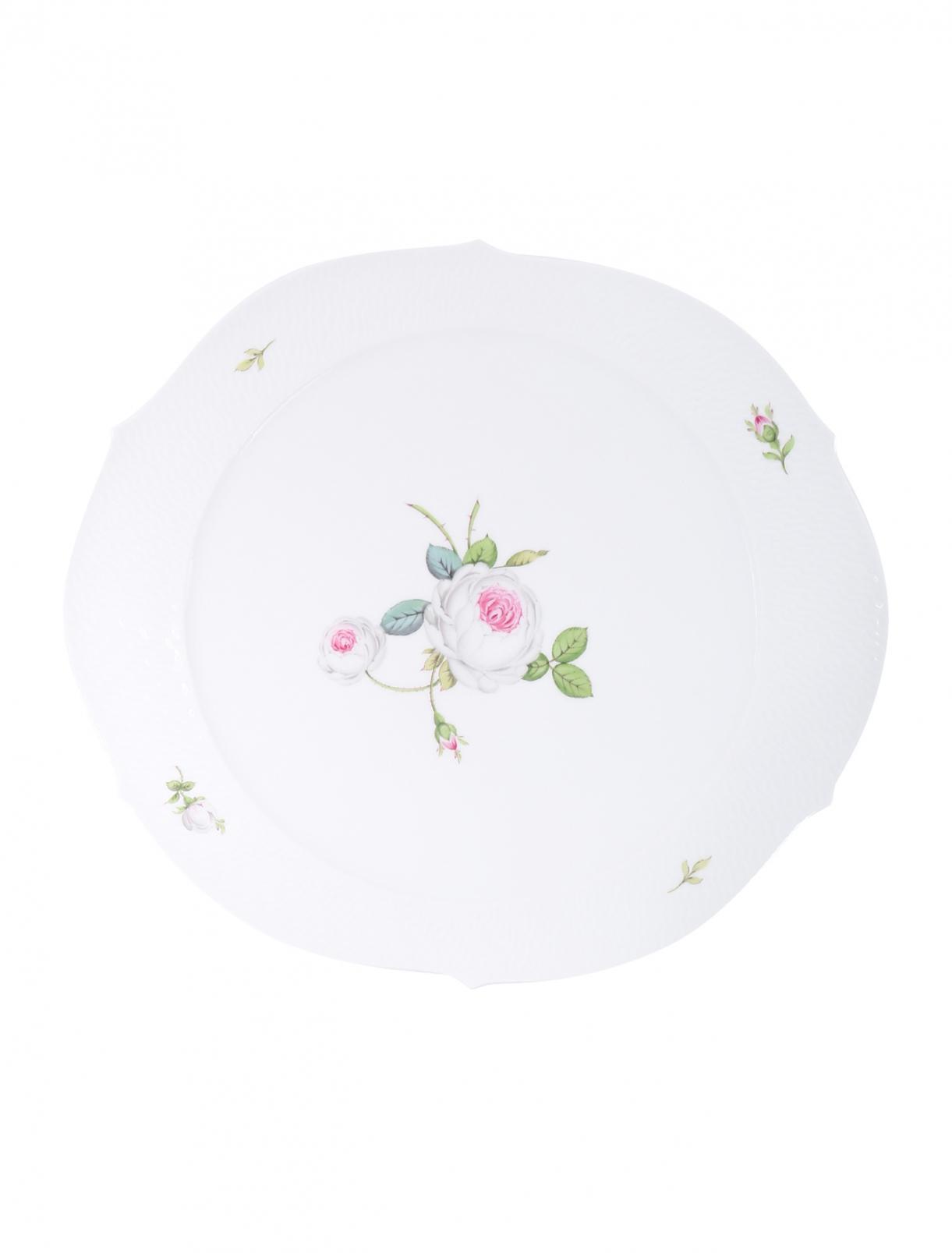 Торница из фарфора с цветочным узором Meissen  –  Общий вид