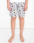 Пижама хлопковая с принтом La Perla  –  МодельВерхНиз