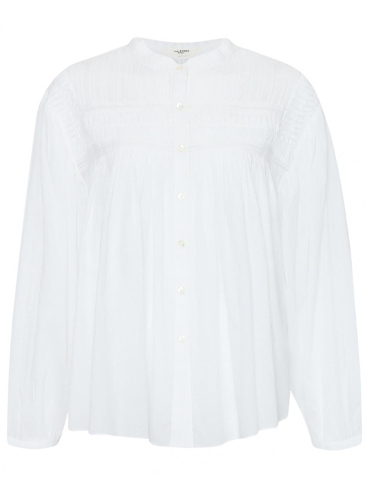 Блуза из хлопка свободного кроя Isabel Marant  –  Общий вид