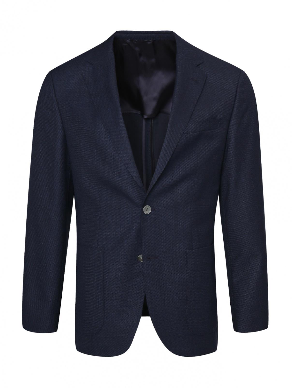 Пиджак из шерсти Hugo Boss  –  Общий вид