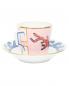 Набор кофейный из двух чашек и двух блюдец с узором Richard Ginori 1735  –  Обтравка1