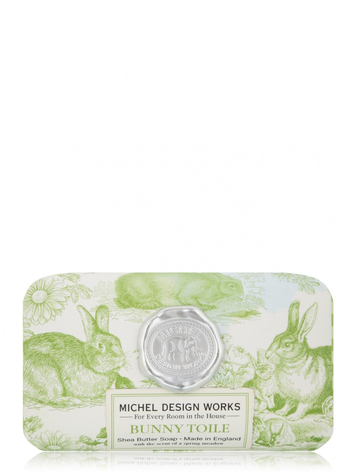 Мыло в бумажной обертке Bunny Toile 246 г 11х7х5 см MichelDesignWorks  –  Общий вид