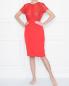 Шелковое платье с ажурной отделкой La Perla  –  МодельОбщийВид