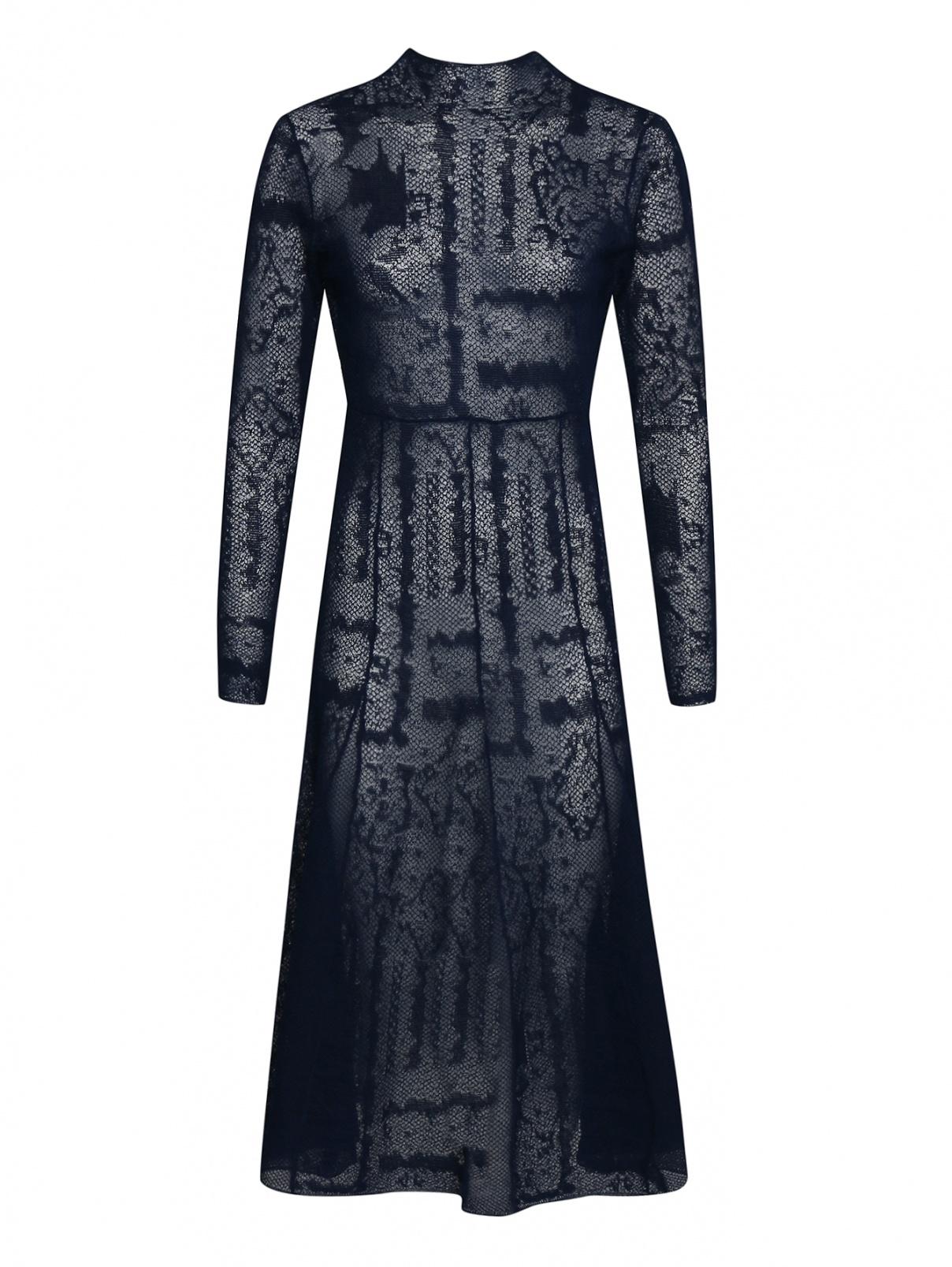 Платье из эластичного кружева с открытой спиной By Malene Birger  –  Общий вид