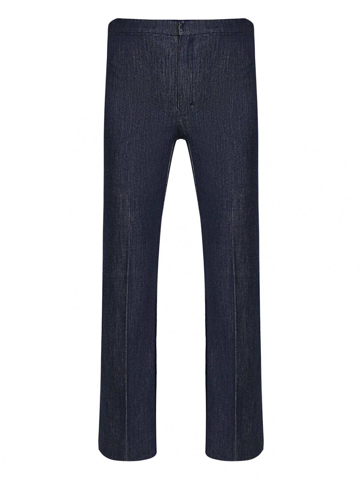 Укороченные брюки из темного денима Max Mara  –  Общий вид