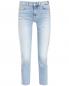 Укороченные джинсы из светлого денима 7 For All Mankind  –  Общий вид