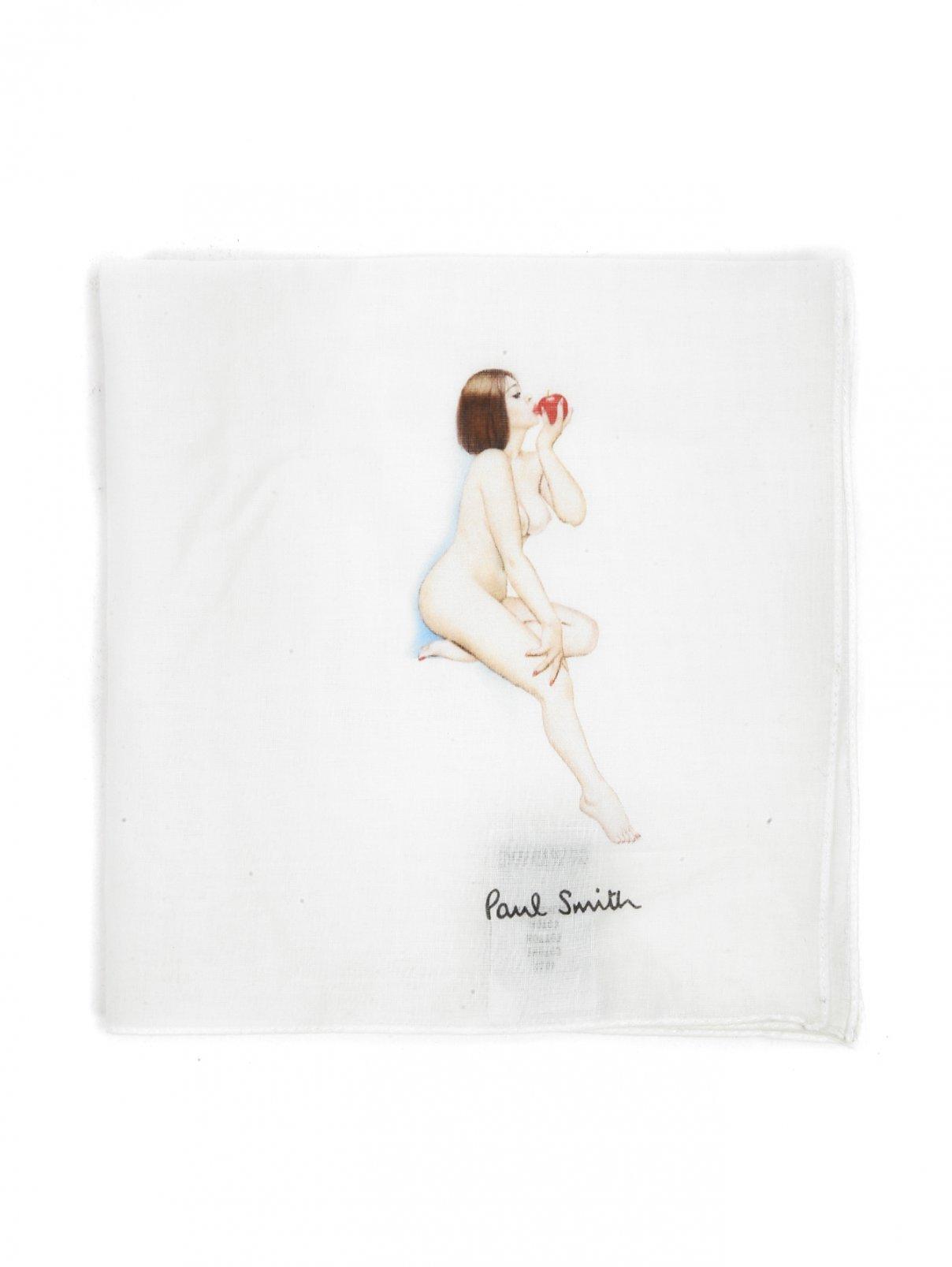 Платок из хлопка с узором Paul Smith  –  Общий вид