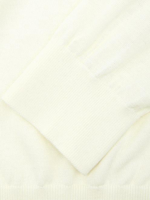 Поло из шелка Kangra Cashmere - Деталь1