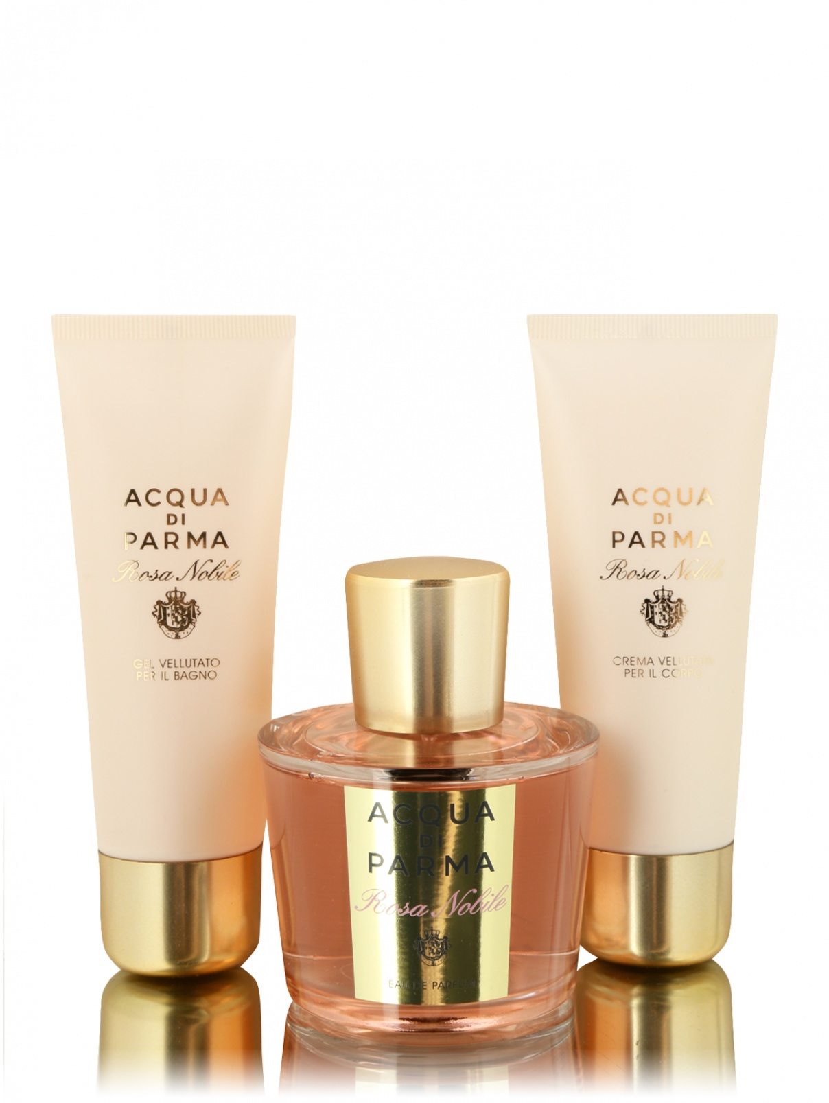 Парфюмерный набор XMAS 2019 Rosa Nobile Acqua di Parma  –  Общий вид