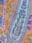 Шарф из шерсти и шелка с узором Etro  –  Деталь
