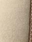Подушка из кашемира с окантовкой из кожи и наполнителем содержащим шерсть верблюда 40 x 60 Agnona  –  Деталь1