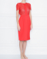 Шелковое платье с ажурной отделкой La Perla  –  МодельВерхНиз