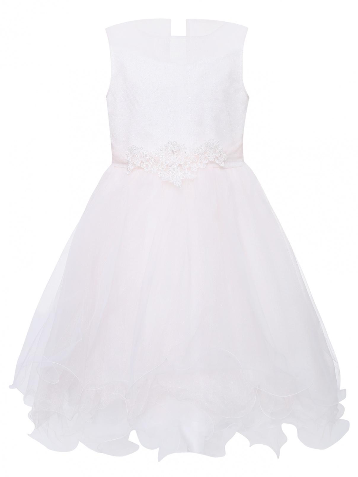 Платье бальное с пышной юбкой Bibi  –  Общий вид